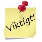 notis VIKTIGT