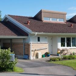 Råda parhus/radhus framsida