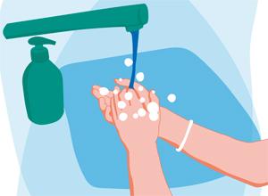 Tvätta händerna ofta